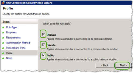 Secure Windows Traffic with IPsec   IT@Cornell