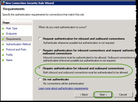 Secure Windows Traffic with IPsec | IT@Cornell