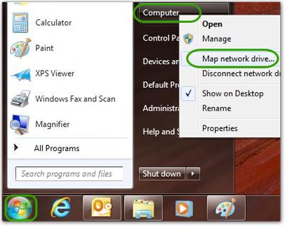 Map a Drive to a Windows File Share | IT@Cornell Drive Map on