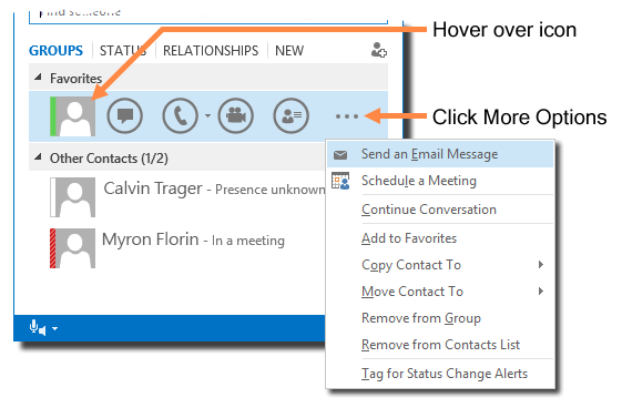 Send Email Messages with Skype for Business for Windows | IT