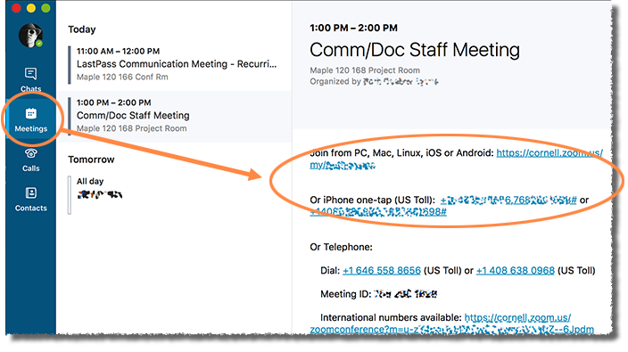 Join an Online Meeting (Skype for Business Mac) | IT@Cornell