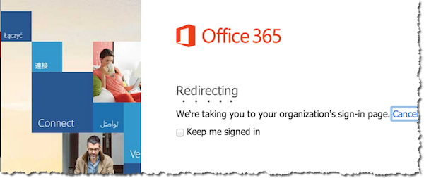 Office 365 Redirect