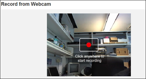 Record Webcam