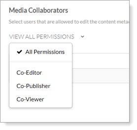 Video on Demand - Filter Media Collaborators